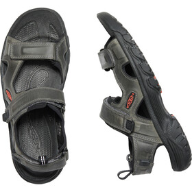 Keen Targhee III Open Toe Sandals Men grey/black